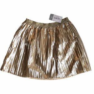 NWT Carter's gold skirt